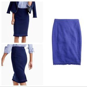 NWT J. Crew Tweed Pencil Skirt